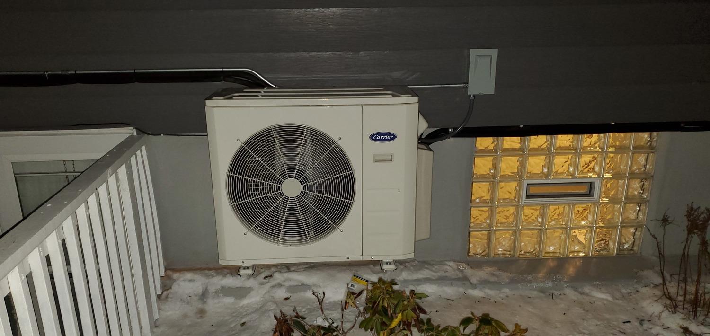 air conditioning installation winter