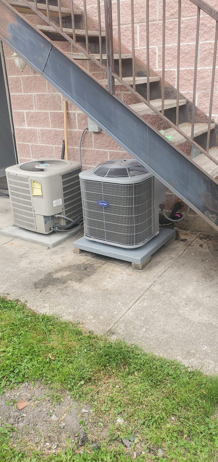 air conditioning service done