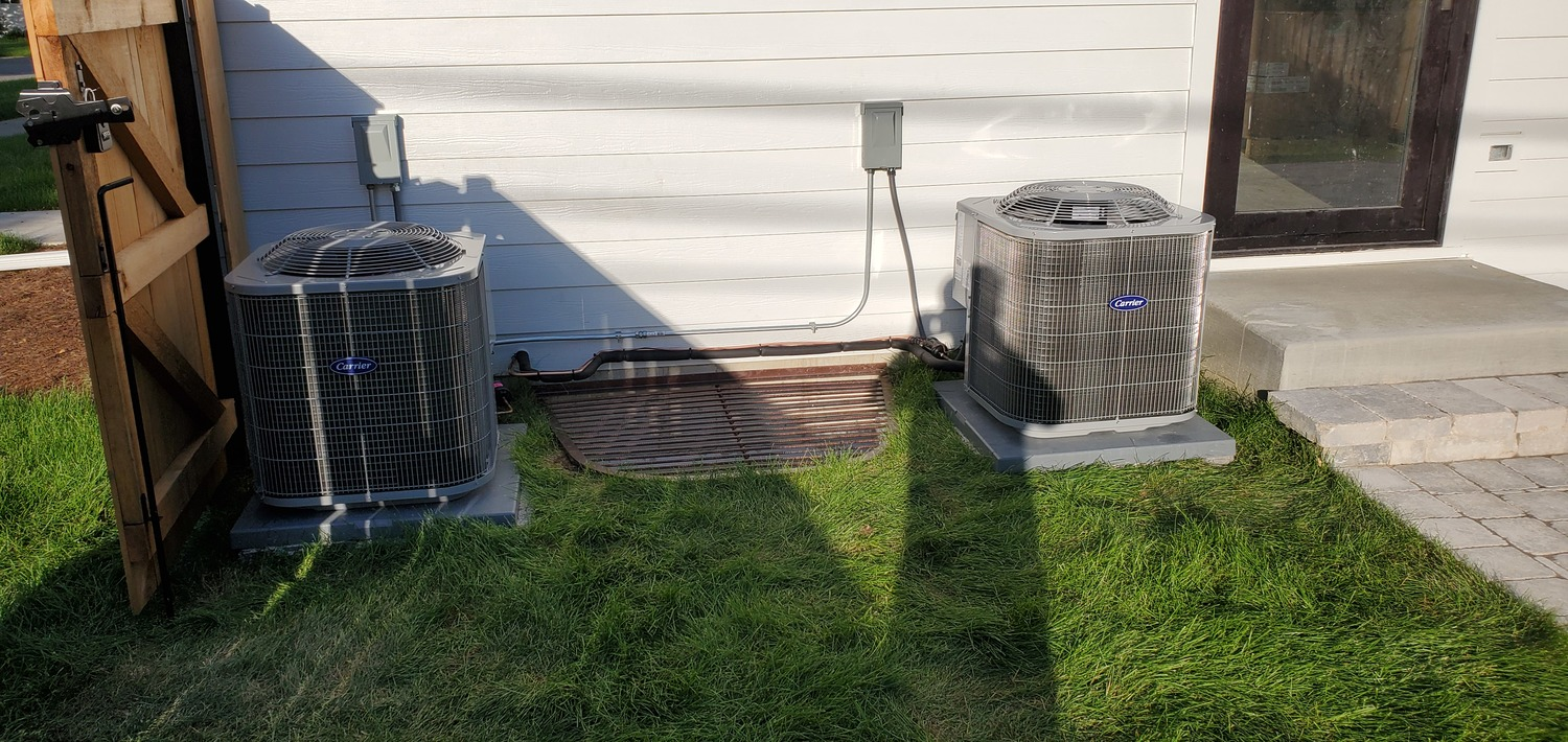 air conditioning installation done