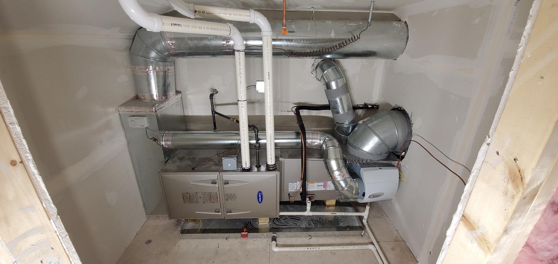 heating repairing progress