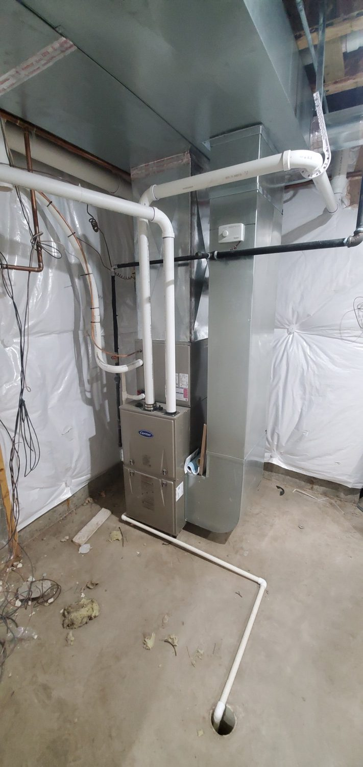 heating and cooling companies at work