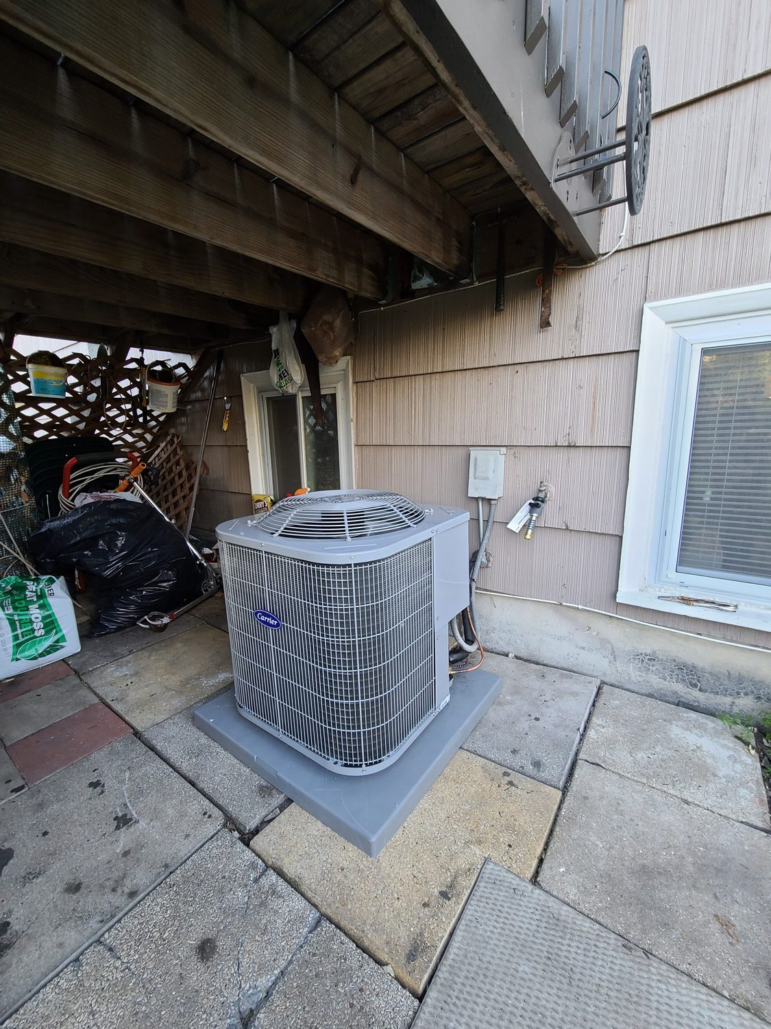 old ac replacement